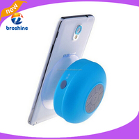 Portable wireless suck type bluetooth silicone speaker for iphone