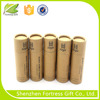 cheap promotional recycled kraft paper core tube