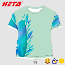 Wholesale price 2017 Brand New 3d sublimation tshirt uv shirt with reactive glowing
