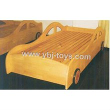 plastic and wood kids bed