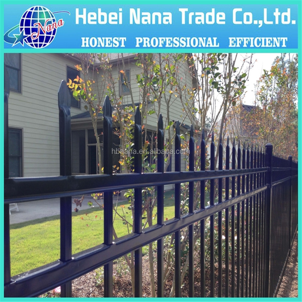 High quality 3 rail aluminum garden fence,aluminum fence parts