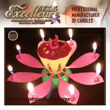 cheap birthday candle to India/indoor fireworks candle making factory