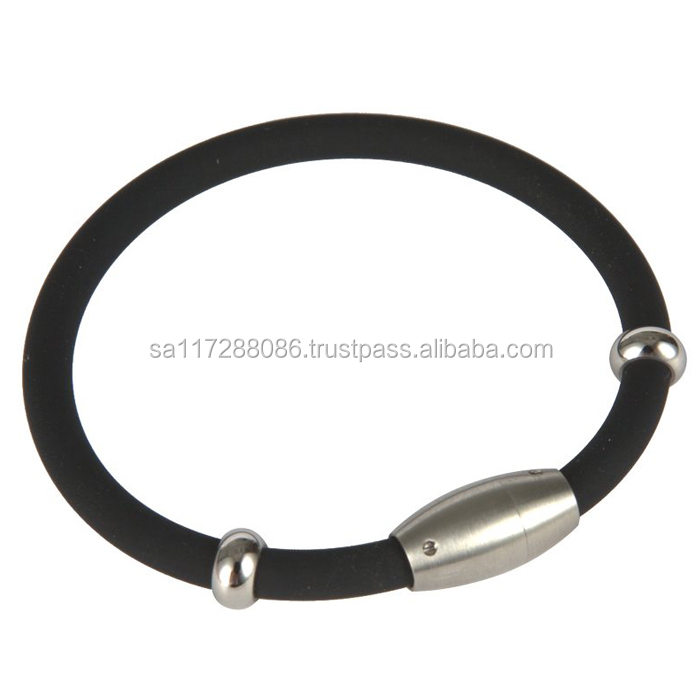 Fashion wholesale cheap silicon bracelet