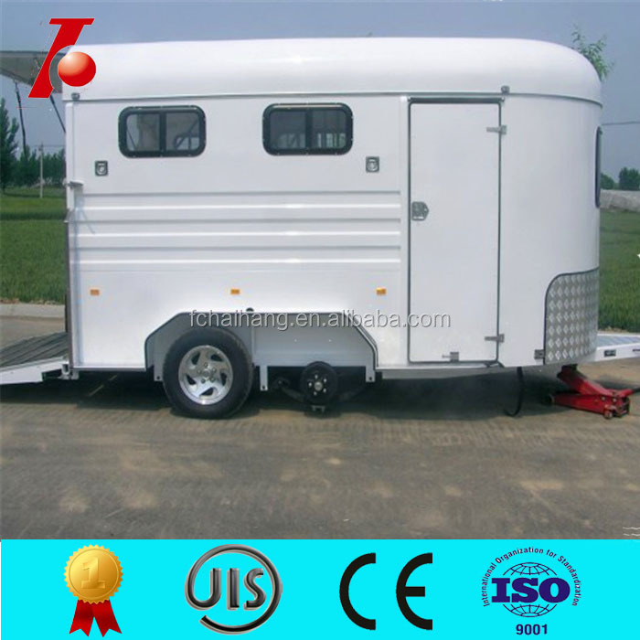 2 horse trailer used for horse,luxury horse trailer sales