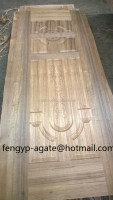 3mm Natural Teak Molded Door Skin Mdf