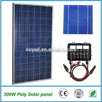 High efficiency 10kw solar grid tie inverter connect to poly solar panel for grid tied solar system