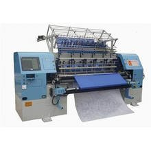 industrial high-end shuttle lock stitch multi needle quilting machine for garments