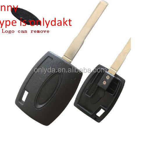 car key blank for Ford Focus transponder Key blank (the logo can remove)