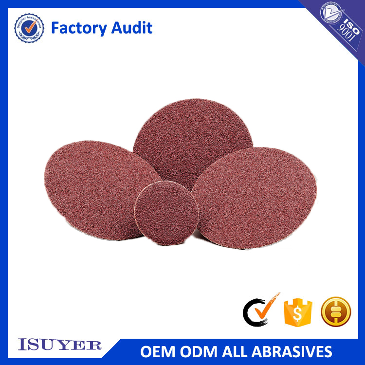 Hot Sale Promotional Quick Change Velcro Abrasive Disc for Polishing in Automotive Industry