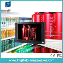 "motion sensor 7"" lcd advertising video monitors in retail stores"