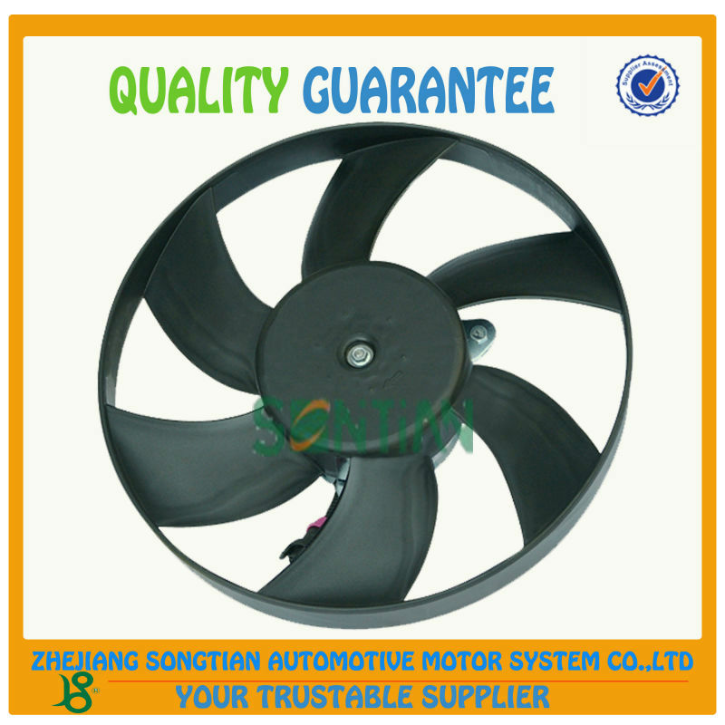 High Performce Auto Spare Parts 12V RADIATOR COOLING FAN 6K0 959 455A for SEAT and VW MADE IN RUIAN WENZHOU ZHEJIANG CHINA
