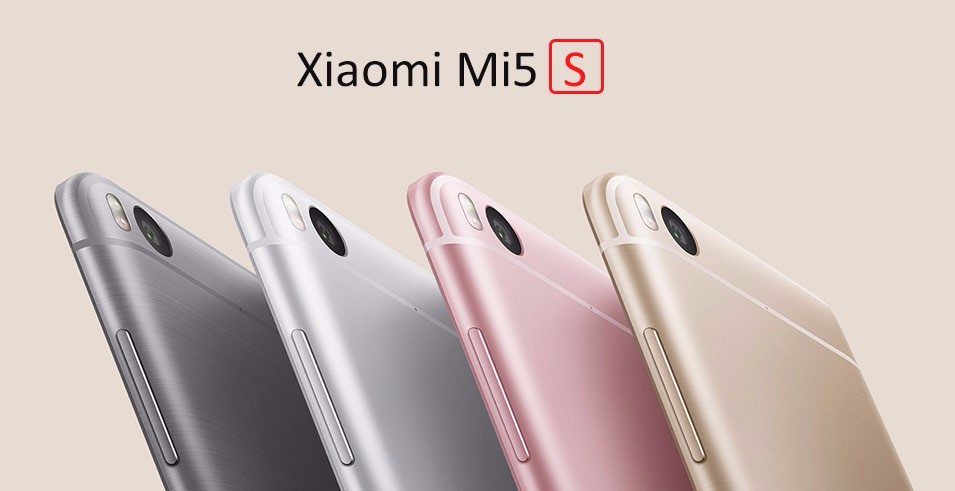 "Original Xiaomi Mi Mobile Phone 5S 3GB RAM 64GB ROM Snapdragon 821 Quad Core 5.15""Inch 1920x1080 Ultrasonic Fingerprint"