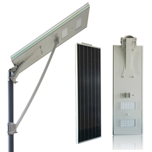 12w 20w 30w SMD chips waterproof IP65 outdoor integrated microwave sensor all in one solar led street light price