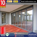 High Quanlity Standard AS 2047 certificate AS 2208 glass aluminium bi folding door