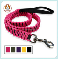 "40 Inch Nylon Braided Dog Leash Pet Walking Leads Puppy Products 1.0""wide for Small Breeds"