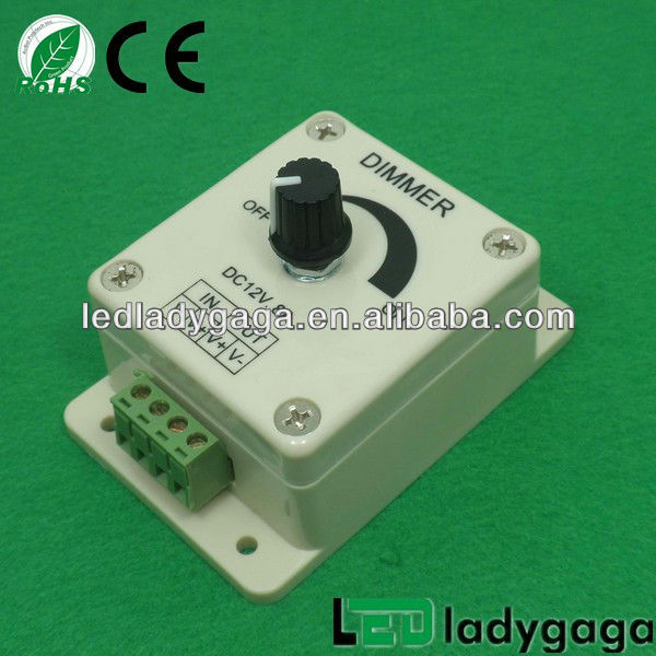 new style Rotary wall switch led driver dimmer small dimmer switch