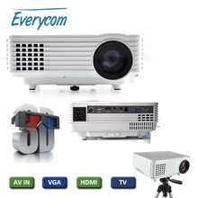 3D full hd TV 1920 x 1080p mini led projector 1800 lumens LED Projector EC-77 2015 new arrival