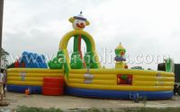 big inflatable animal playground giant air jungle maze inflatable obstacle course inflatable maze A5038