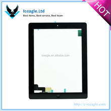 Factory Price Sensitive Digitizer Replacement Touch Screen Assembly Black and White for Ipad 2