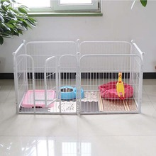 High Quality Wholesale Cheap Iron wire mesh Fence Dog Kennel outdoor Folding metal Dog Kennel