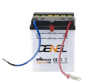Small battery 12V 2.5AH lead-acid-motorcycle-battery with acid