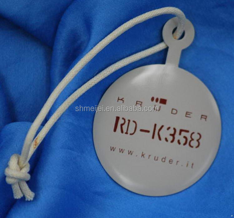 China good supplier top quality custom hole punch hang tag for clothing