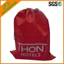 high quality cheap nylon small drawstring laundry bags