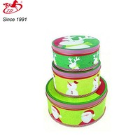 sweet cookie metal gift tin boxes with plastic insert