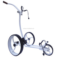 Aluminium remote golf trolley