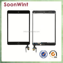 high quality lcd display touch screen lens glass digitizer assembly part for ipad mini 3 black