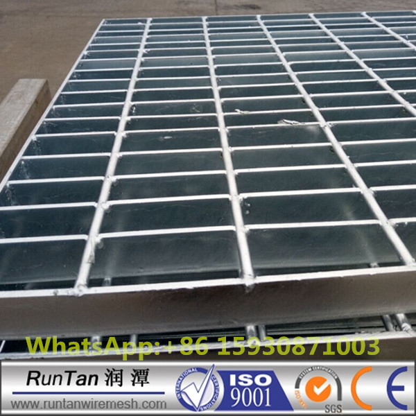 Heavy duty industrial Galvanized steel driveway grates floor grating welded ( factory)