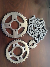 cd70 ,CG125,YB 100 motorcycle chain and sprocket kits