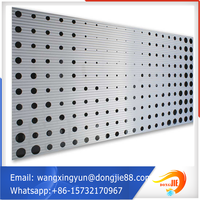 2mm stainless steel perforated metal screen sheet/square hole perforated mesh