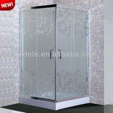 5mm clean glass 2 sided shower enclosure ADL-8037