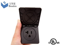 Super quality manufacture waterproof solar plug socket