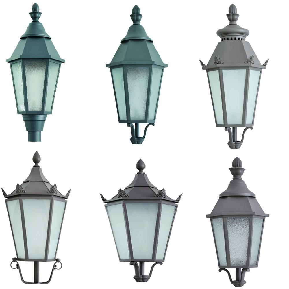 Fancy Outdoor Post Lights: Decorative Antique Outdoor Lighting Pole /garden Post