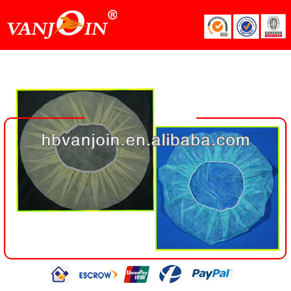 White Color 20GSM Disposable Hair Net