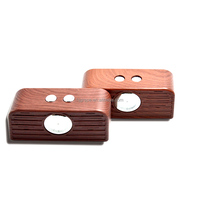 Grape New style wood bluetooth speaker+FM Radio+clock+alarm+speaker