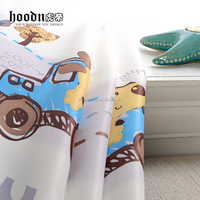 Hood brand cotton window curtain for children