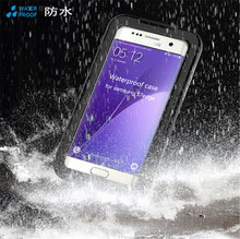 Shockproof Waterproof IP68 Clear Touch Screen 100% Sealed Water Proof Mobile Phone Cases Cover for Samsung galaxy S7 S7 edge
