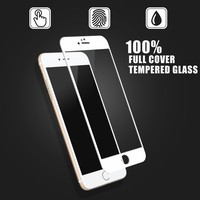 For I phone 6 Premium 2.5D Curved Edge Matte Full Cover Tempered Glass Screen Protector OEM/ODM