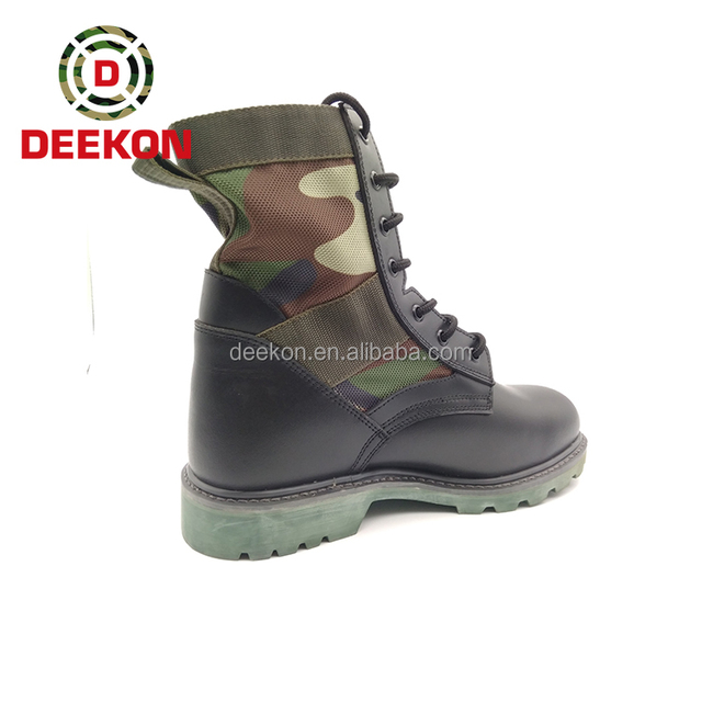 High Quality Camouflage Army Boots With Factory Price