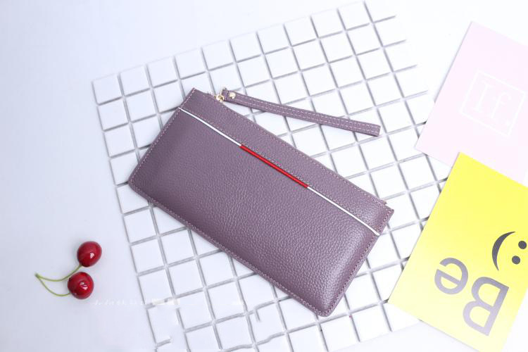 Genuine Leather Clutch Wallet For Women