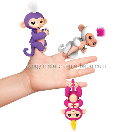 Children's toys r us fingerlings baby monkey electronic smart touch colorful fingerlings monkey argos