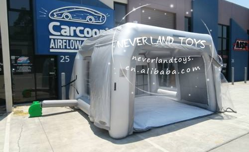 Neverland Toys customized inflatable car tent inflatable tent price for sale