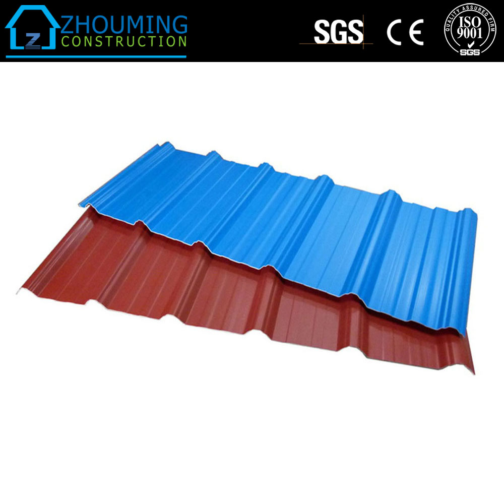 ISO9001 & CE Certificated Trapezoidal Steel Roof Sheet Supplies in Hebei