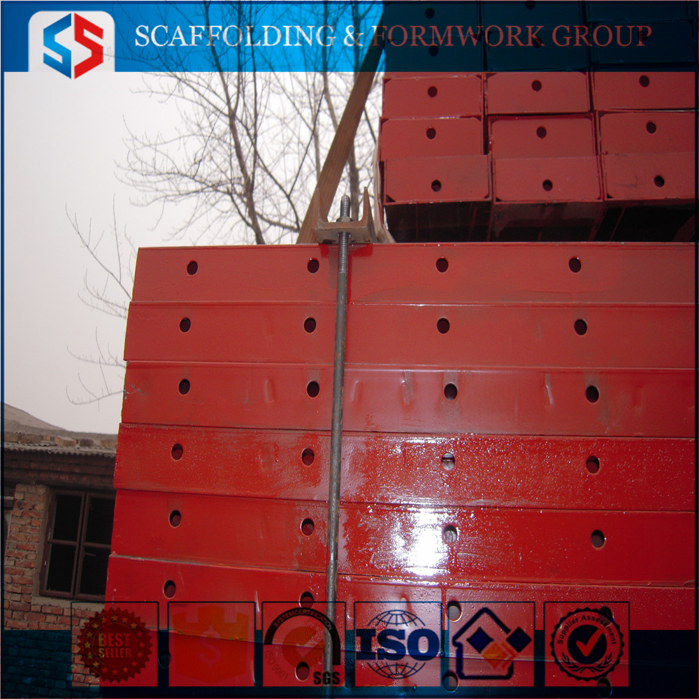 Scaffolding Painted Steel Shuttering Plate From Tianjin China
