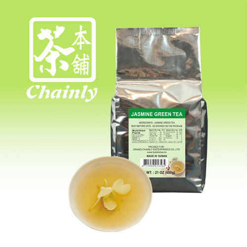 Premium bubble tea leaves individual aluminum foil green tea bags