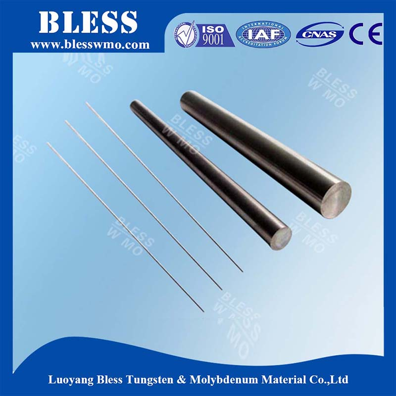 China manufacturer polished tungsten rods/bars