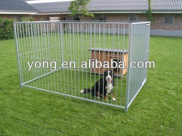 Ordinaire Cloture Jardin Chien #3: En Acier Galvanisé Tube Carré Chien Clôture Cages De Qdyc - Buy Product On  Alibaba.com